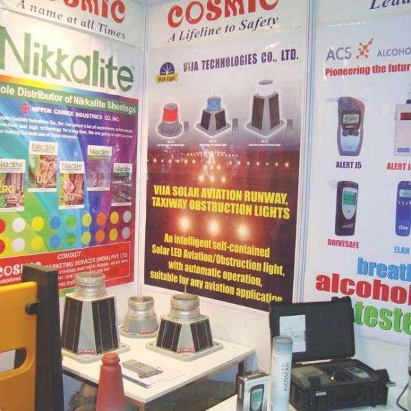 Sản phẩm VIJALight tham gia triển lãm hàng không tại India