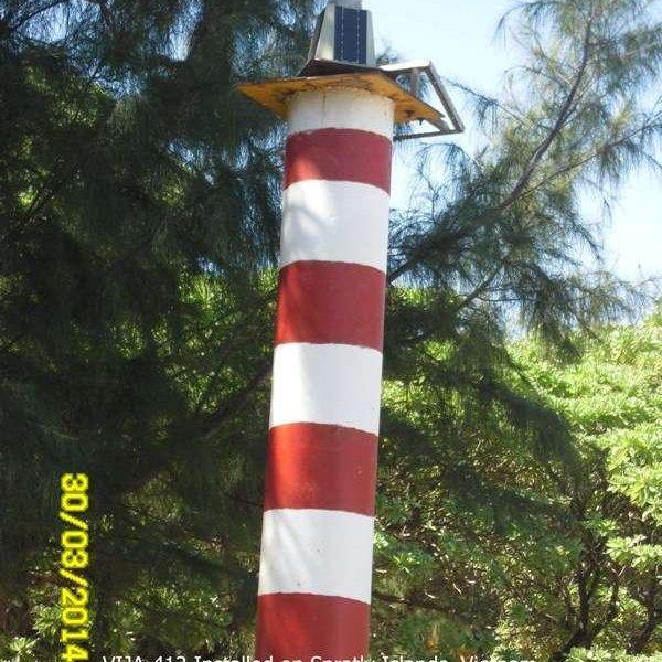 Đèn VIJALight Model: VIJA-412 lắp đặt ở đảo Song Tử Tây – Quần đảo Trường Sa – Việt Nam