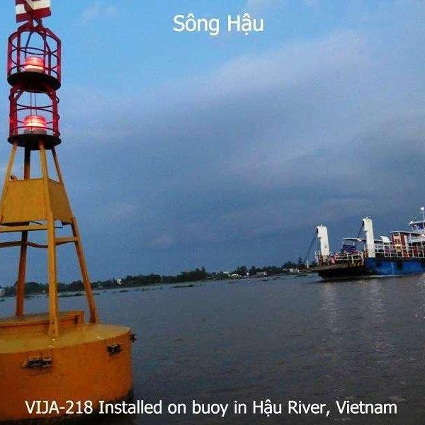 Đèn VIJALight Model: VIJA-218 lắp đặt ở Sông Hậu